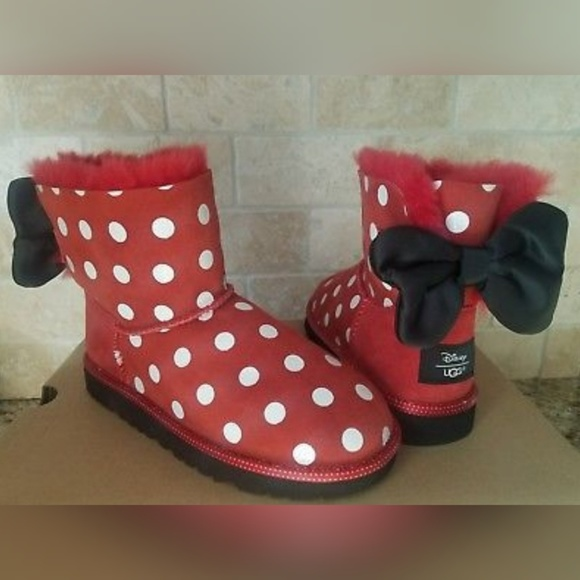 f271ba0a2d0 🌟SOLD🌟NWOT UGG DISNEY MINNIE SWEETIE BOW BOOTS